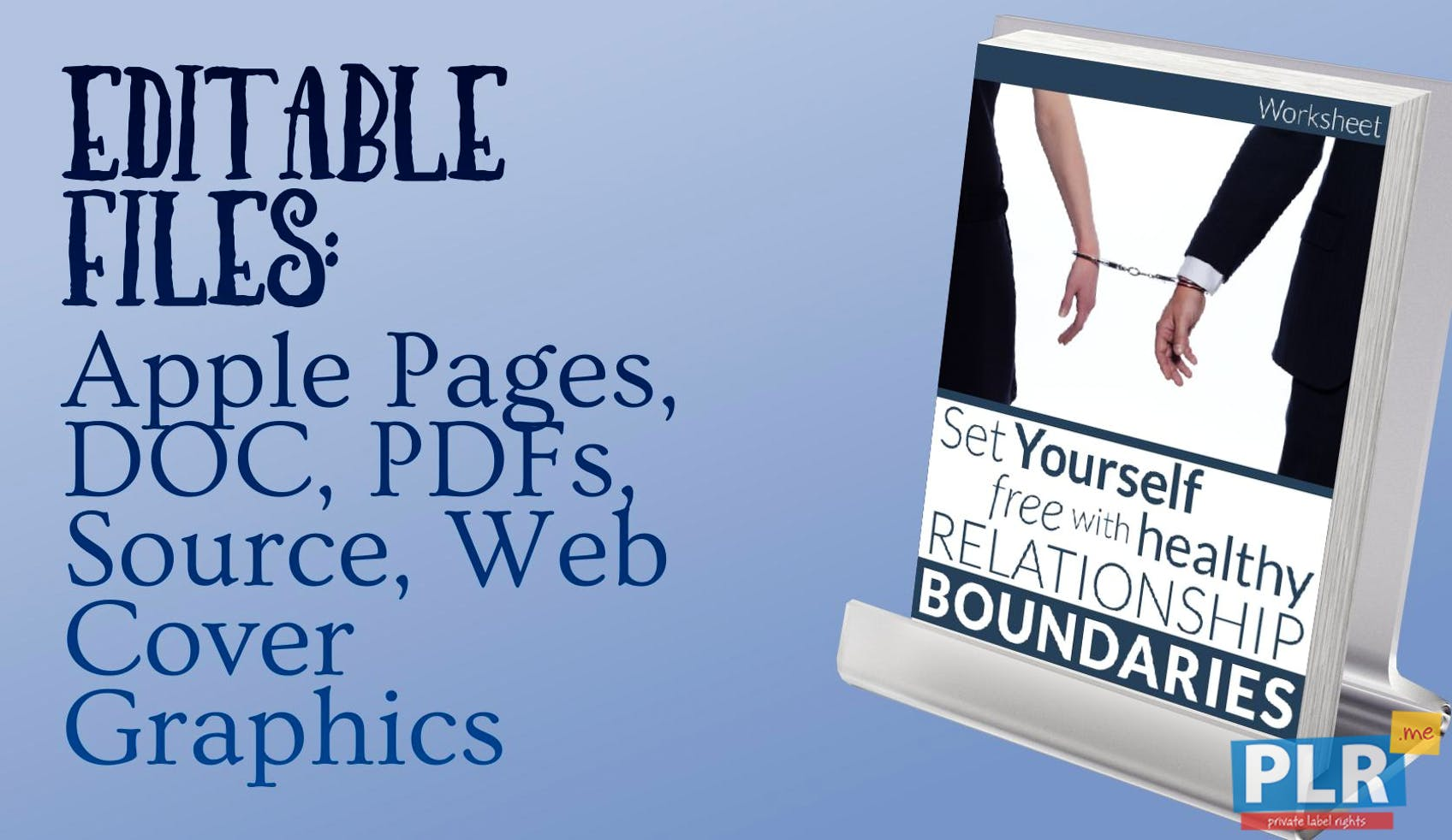 Set Yourself Free With Healthy Relationship Boundaries Worksheet