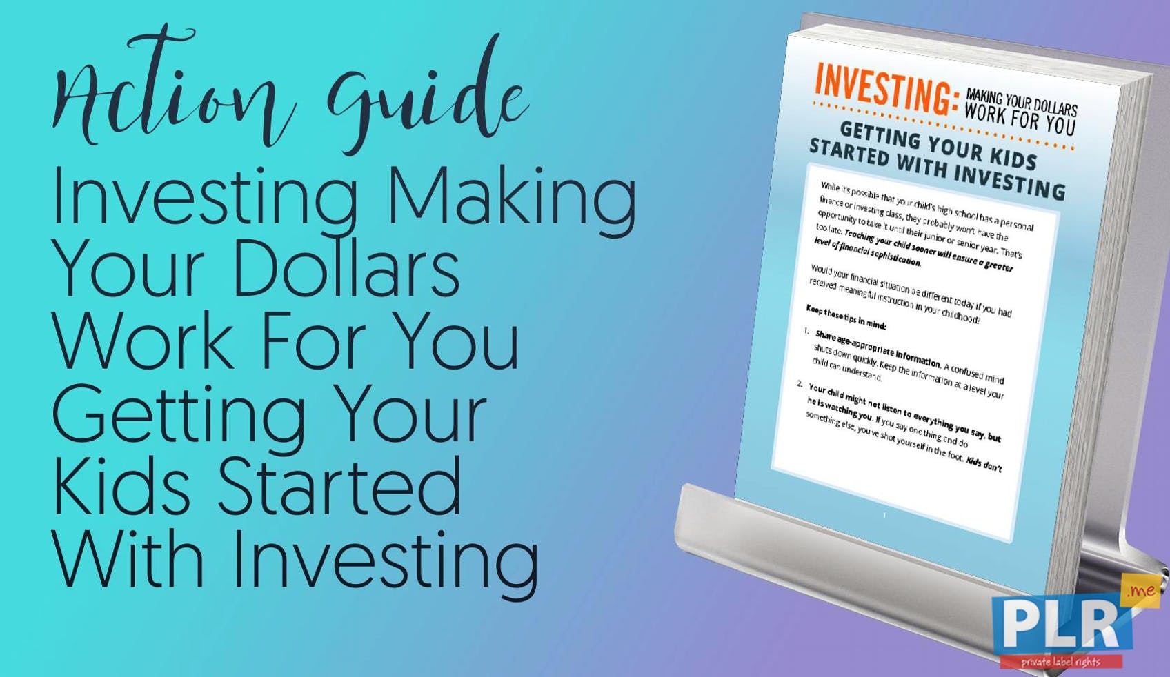 Investing Making Your Dollars Work For You Getting Your Kids Started With Investing