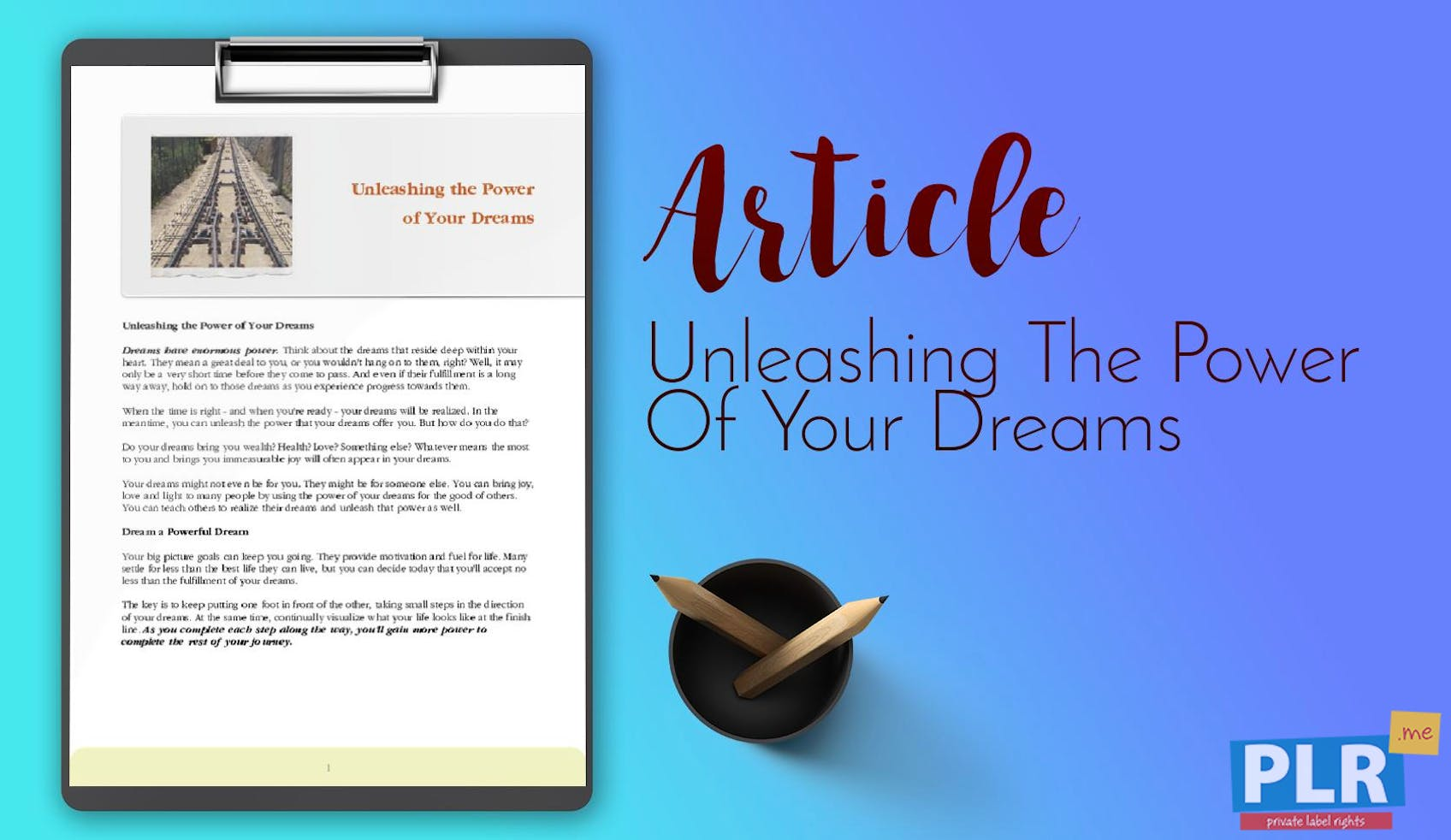 What If Our Dreams Are Right And >> Plr Articles Blog Posts Unleashing The Power Of Your Dreams Plr Me
