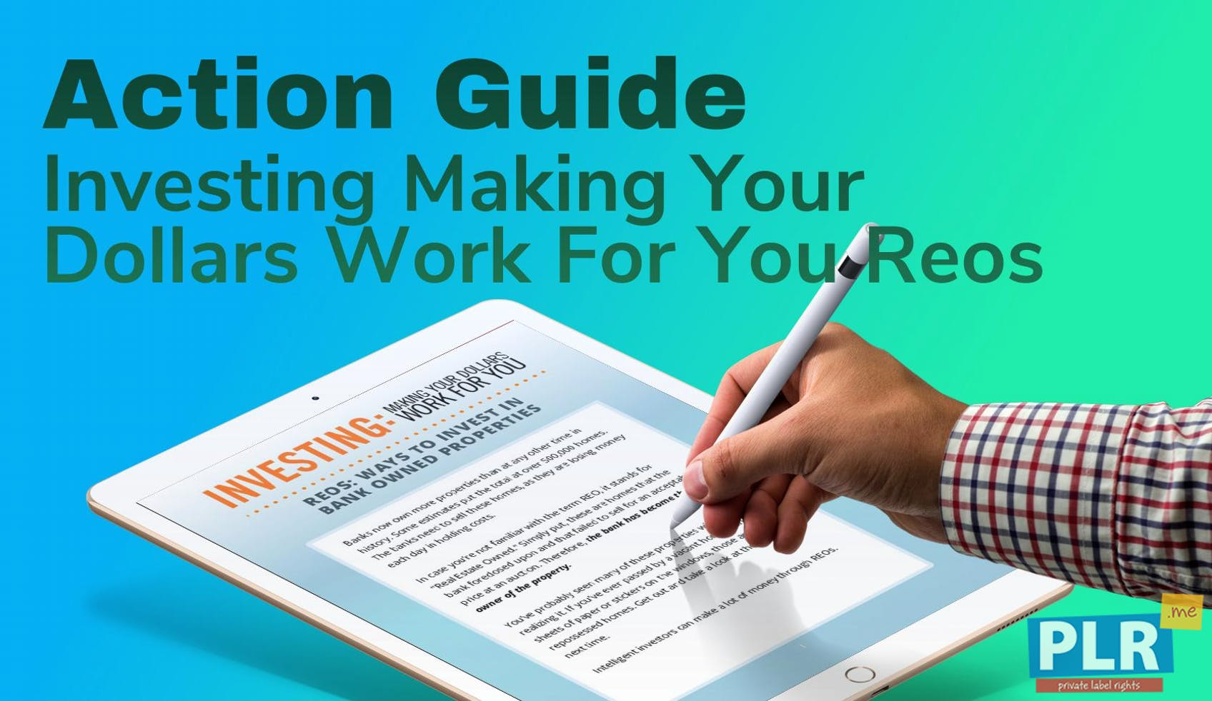 Investing Making Your Dollars Work For You Reos