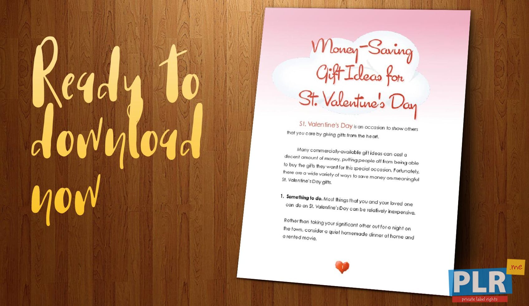 Money Saving Gift Ideas For Valentines Day
