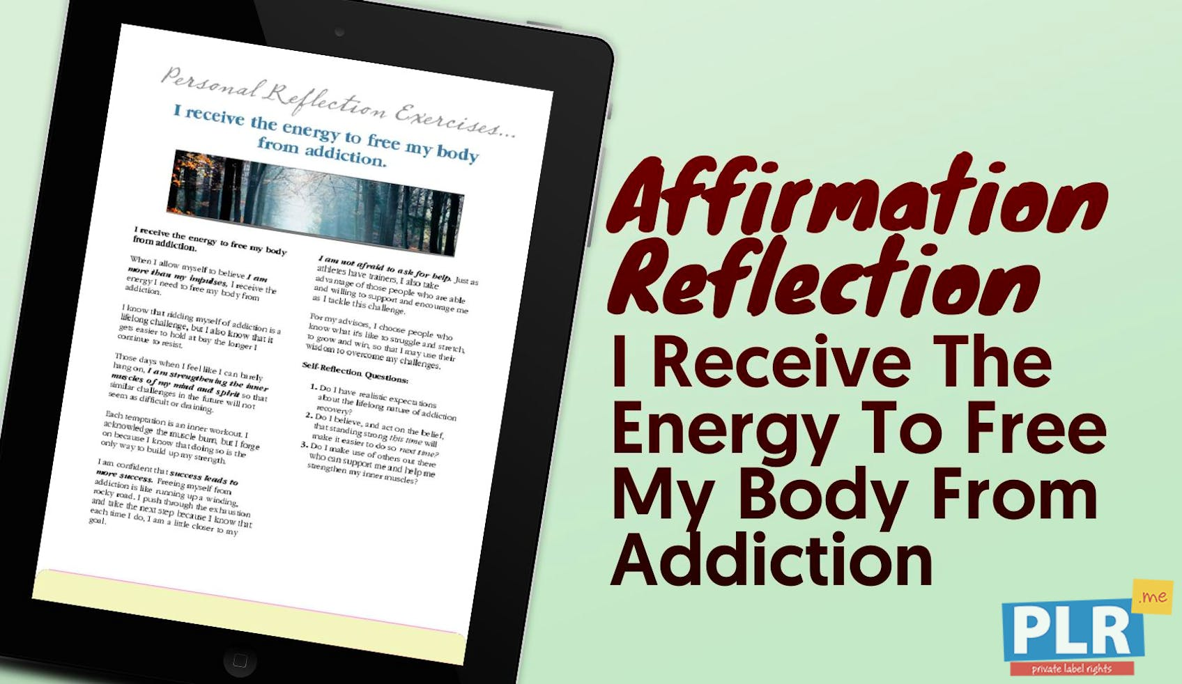 I Receive The Energy To Free My Body From Addiction