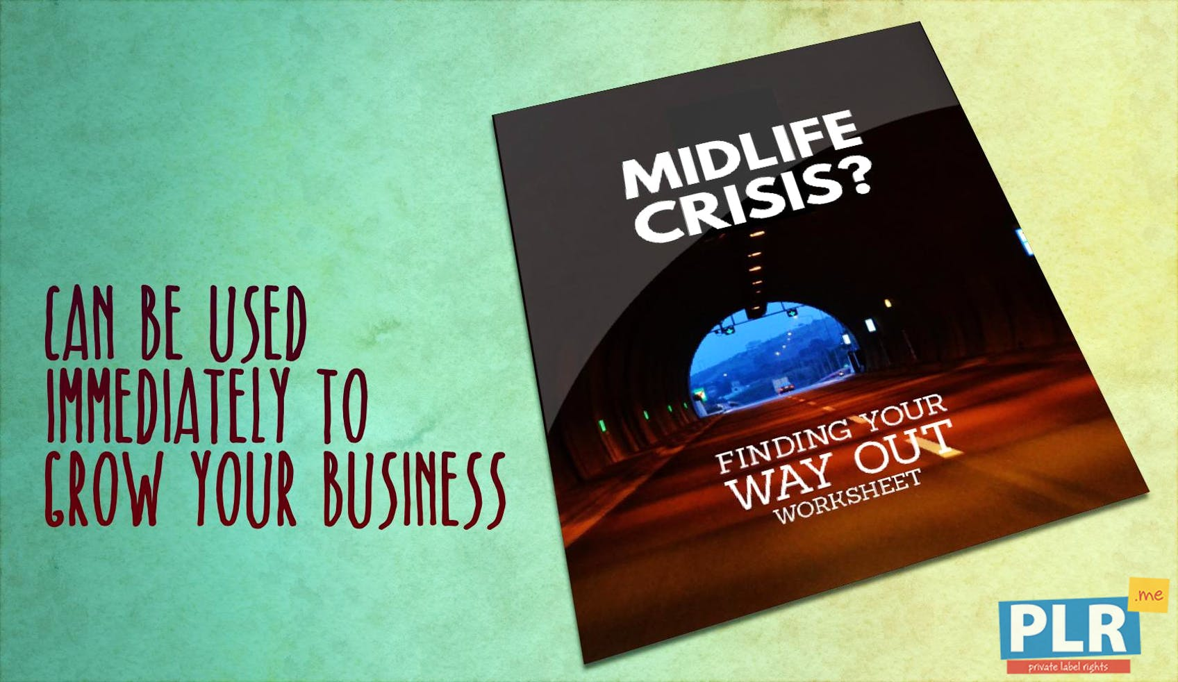 Midlife Crisis Finding Your Way Out Worksheet