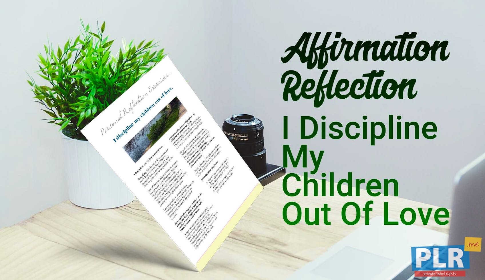 I Discipline My Children Out Of Love