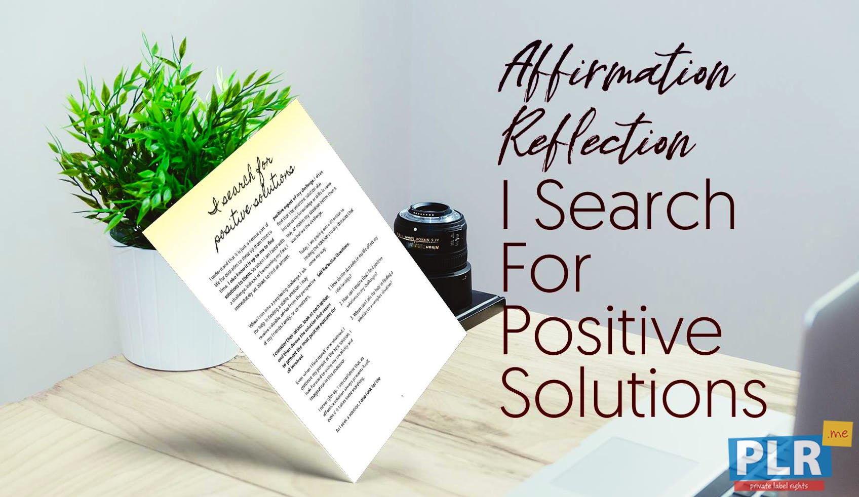 I Search For Positive Solutions