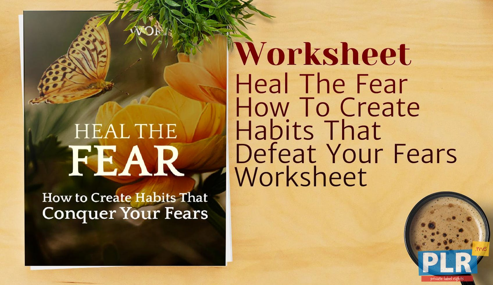 Heal The Fear How To Create Habits That Defeat Your Fears Worksheet