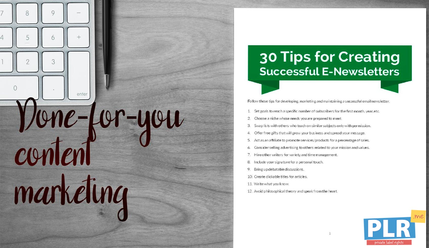 30 Tips For Creating Successful E Newsletters