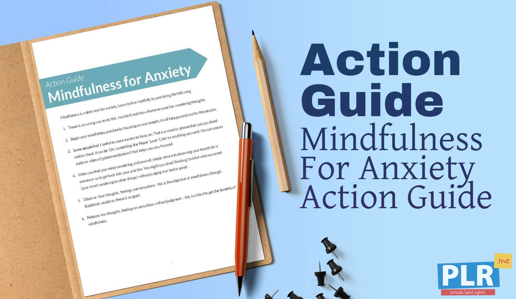 Mindfulness For Anxiety Action Guide