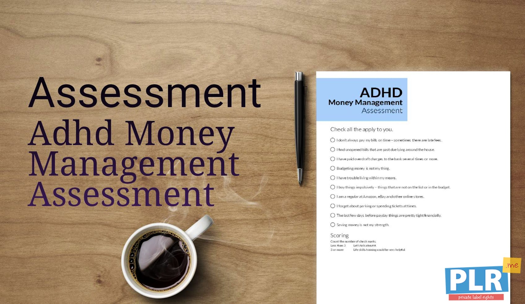 ADHD Money Management Assessment