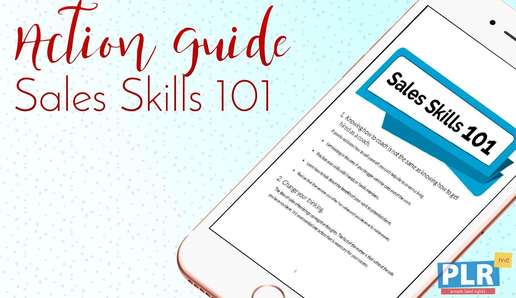 Sales Skills 101