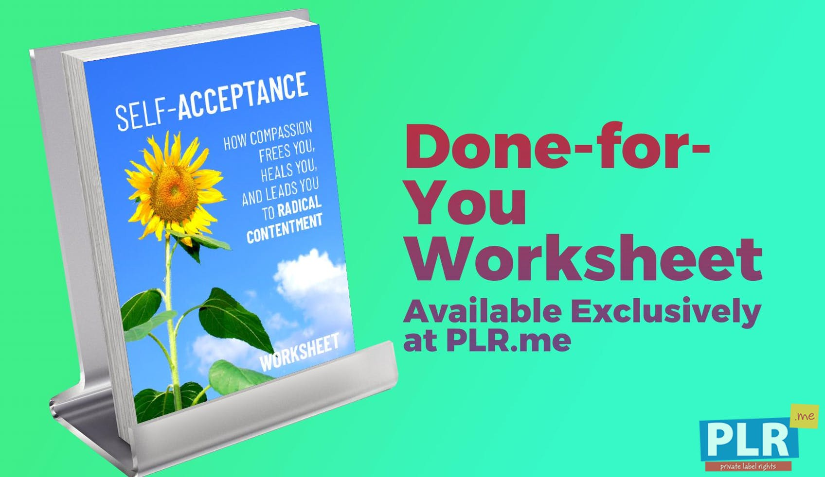 Self Acceptance How Compassion Frees You, Heals You, And Leads You To Radical Contentment Worksheet