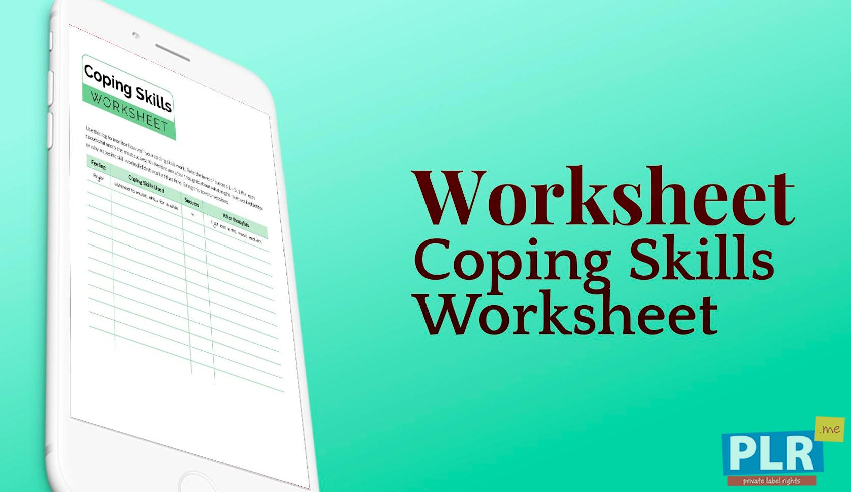 Coping Skills Worksheets Gallery - worksheet math for kids