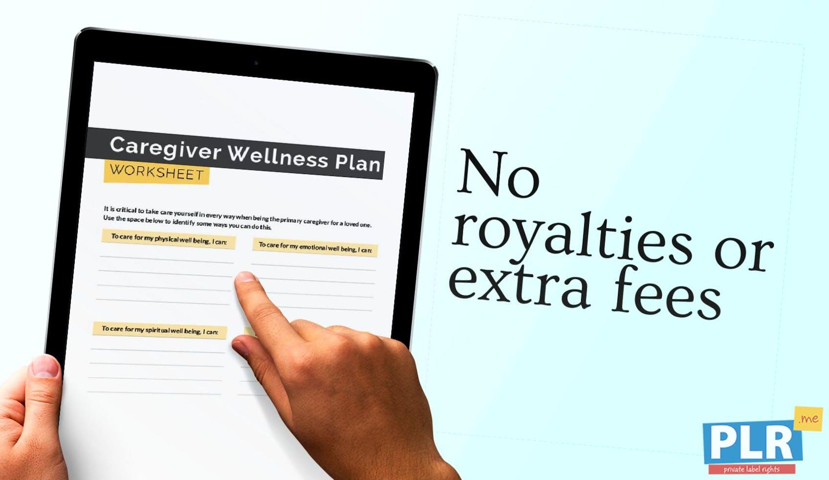 Caregiver Wellness Plan Worksheet