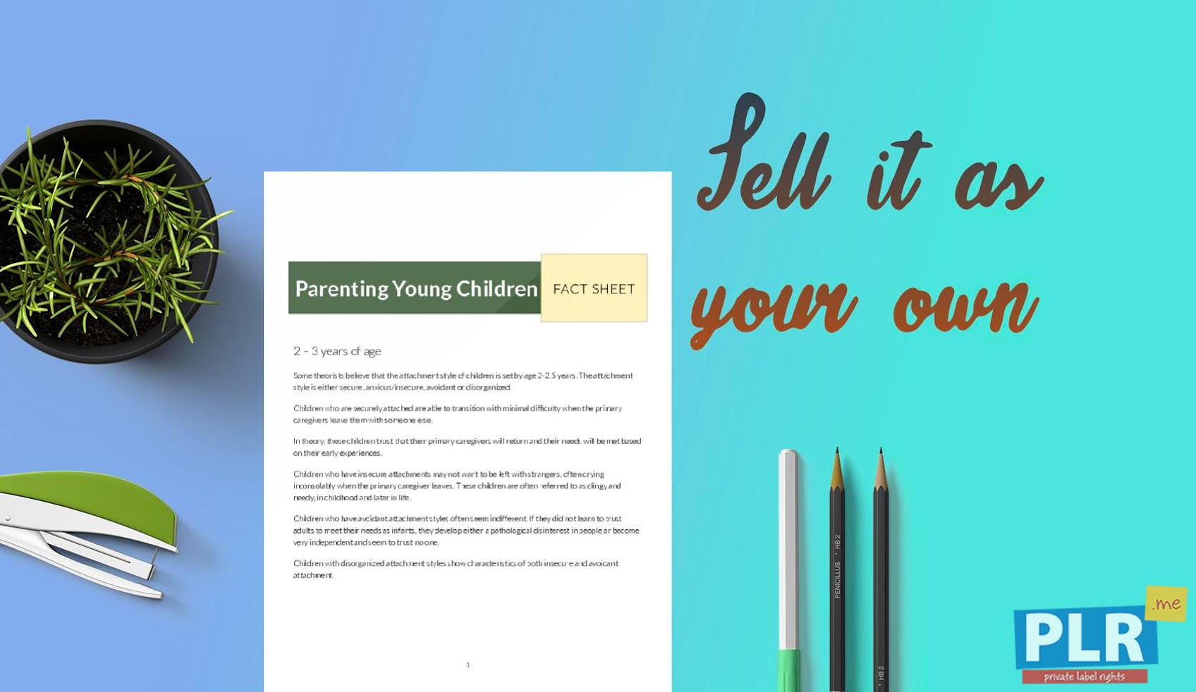 Parenting Young Children Fact Sheet