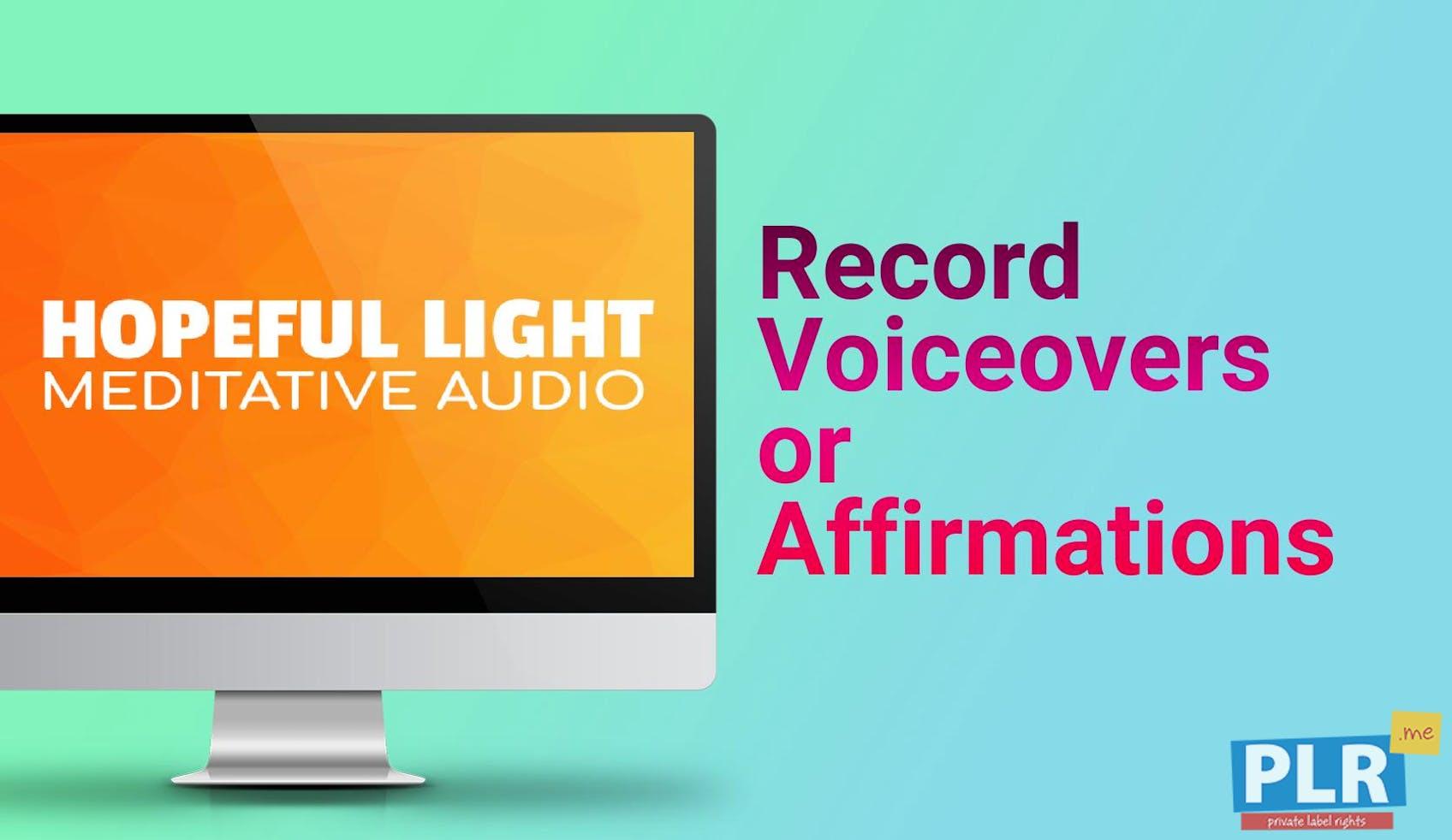 Hopeful Light - Meditative Audio