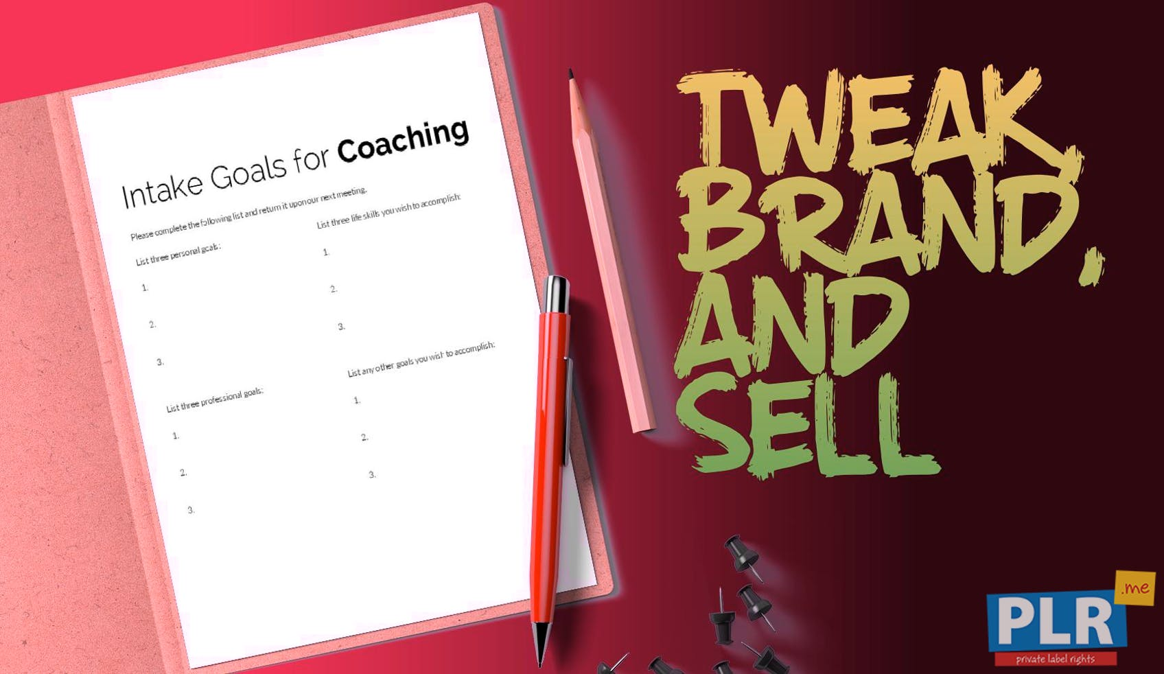 Intake Goals For Coaching