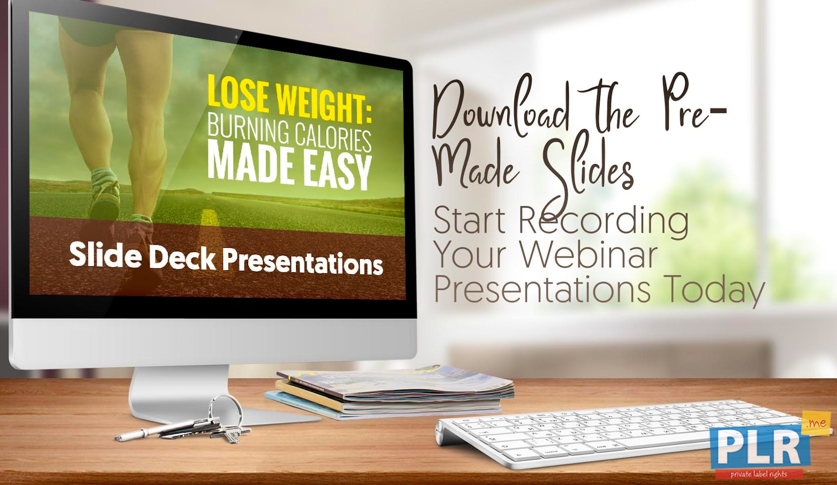 Lose Weight: Burning Calories Made Easy - Slide Deck Presentations