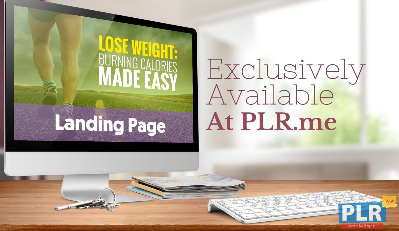 Lose Weight: Burning Calories Made Easy - Landing Page