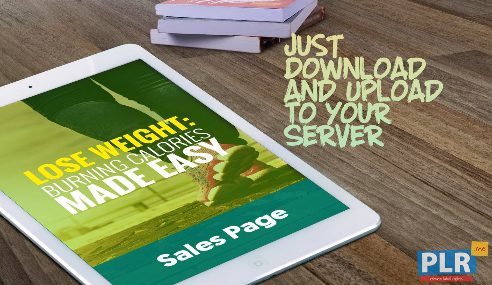 Lose Weight: Burning Calories Made Easy - Sales Page