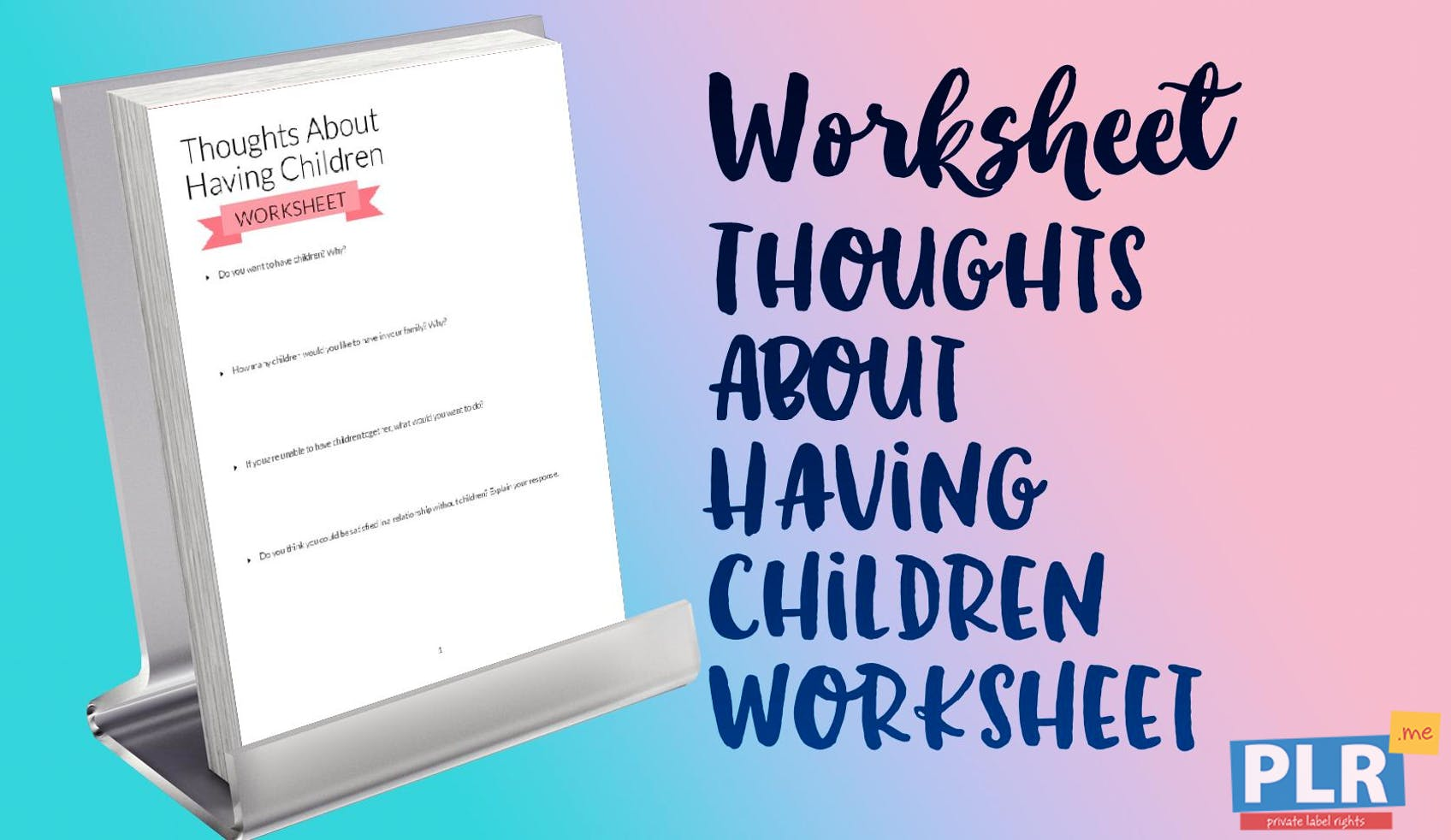 Thoughts About Having Children Worksheet