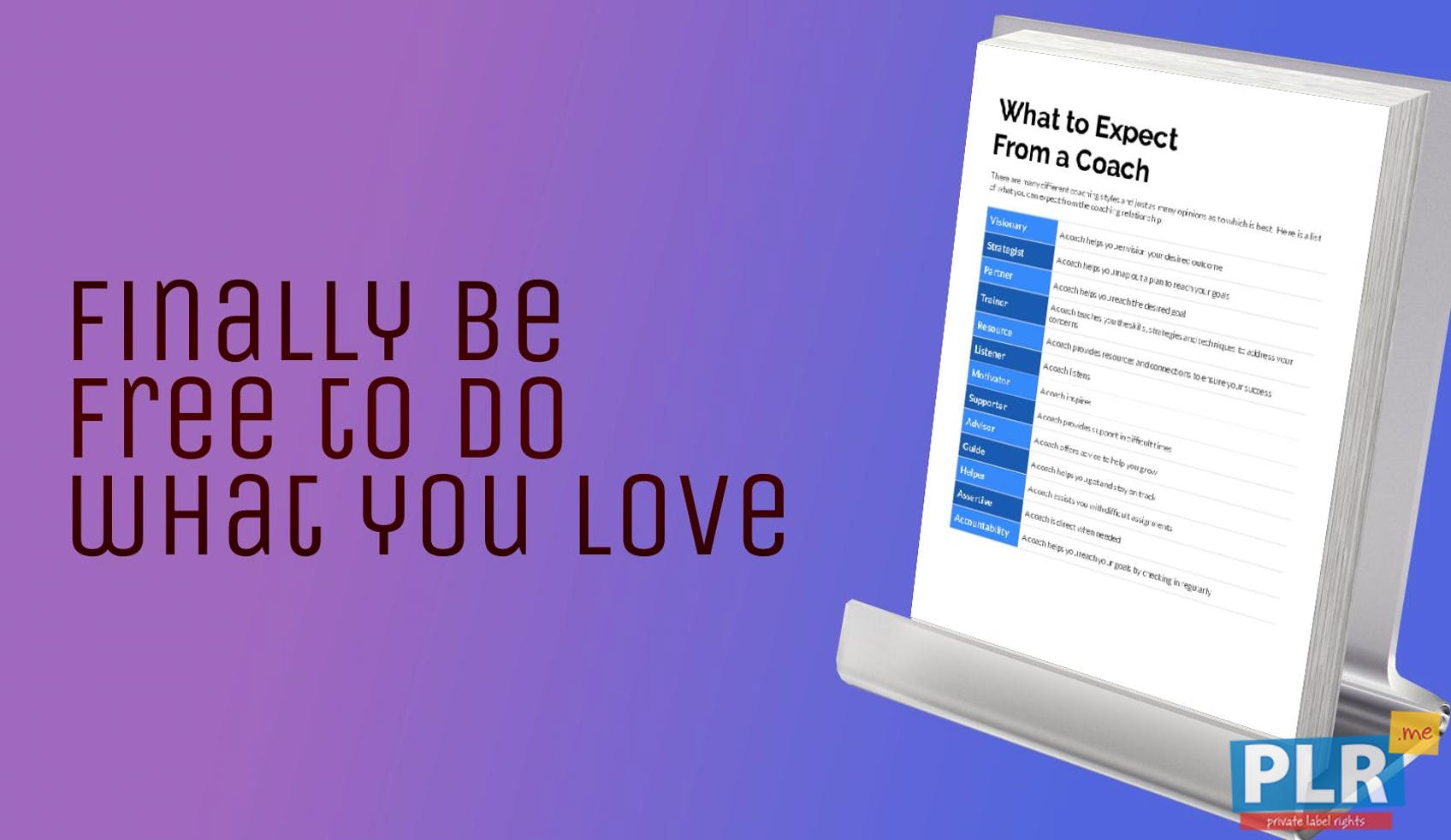 What To Expect From A Coach