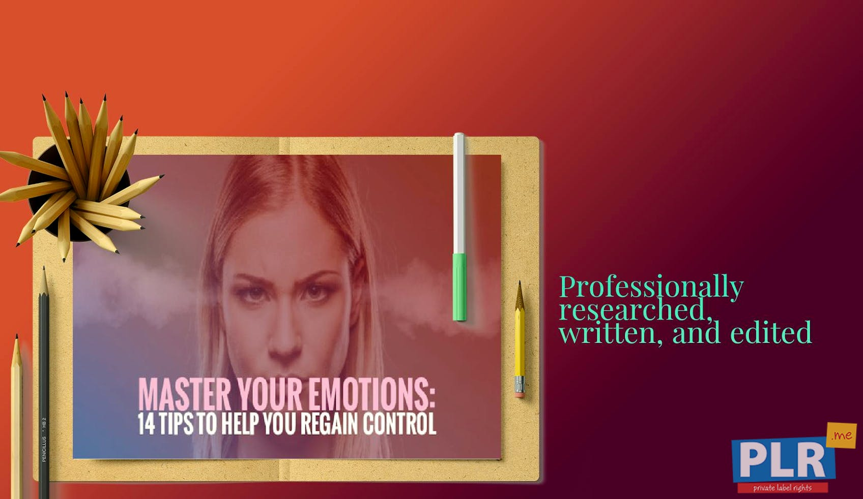 Master Your Emotions 14 Tips To Help You Regain Control Slide Deck