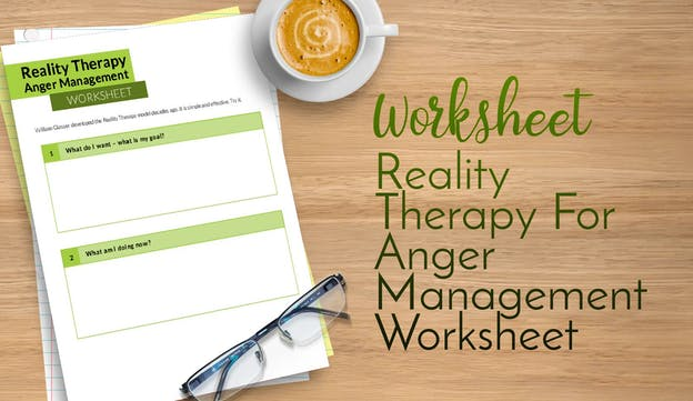 PLR Worksheets Reality Therapy For Anger Management Worksheet