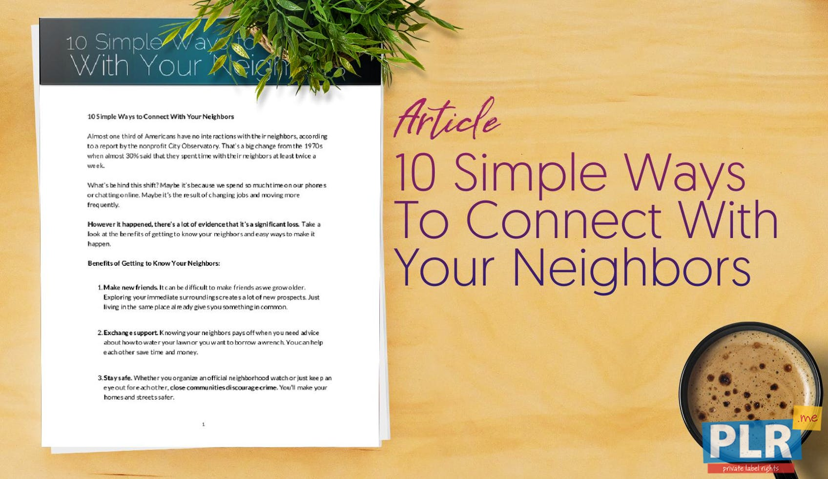 10 Simple Ways To Connect With Your Neighbors