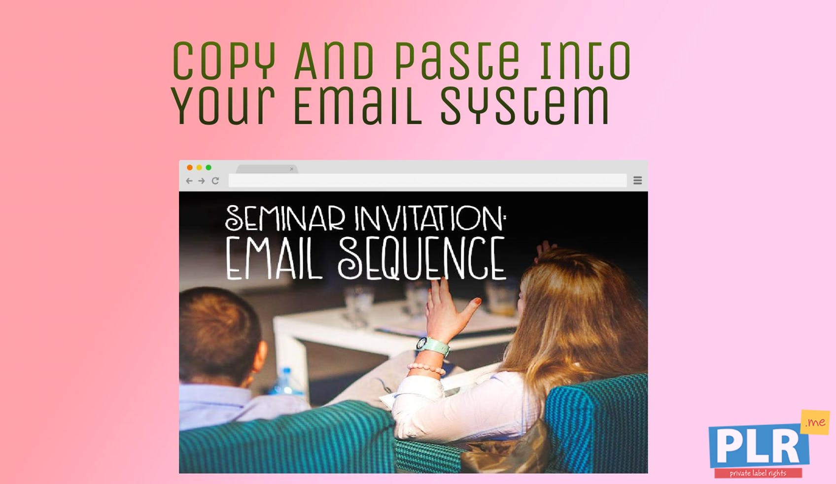 Seminar And Webinar Invitation - Email Template