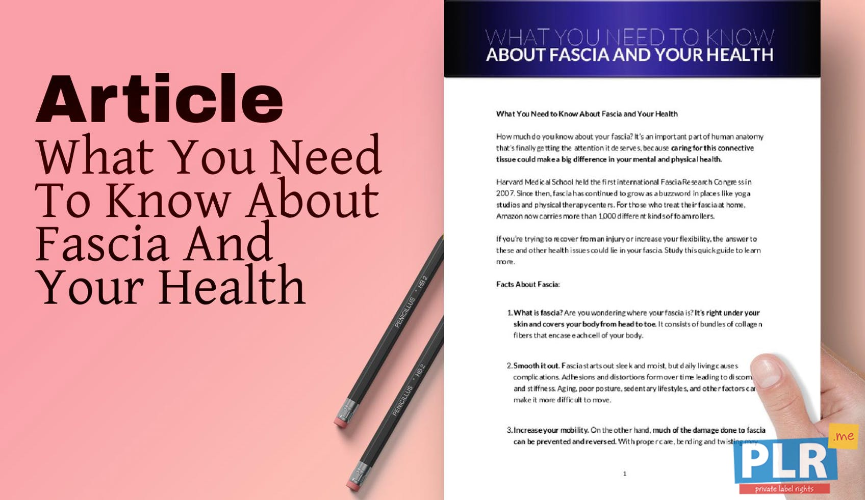 What You Need To Know About Fascia And Your Health
