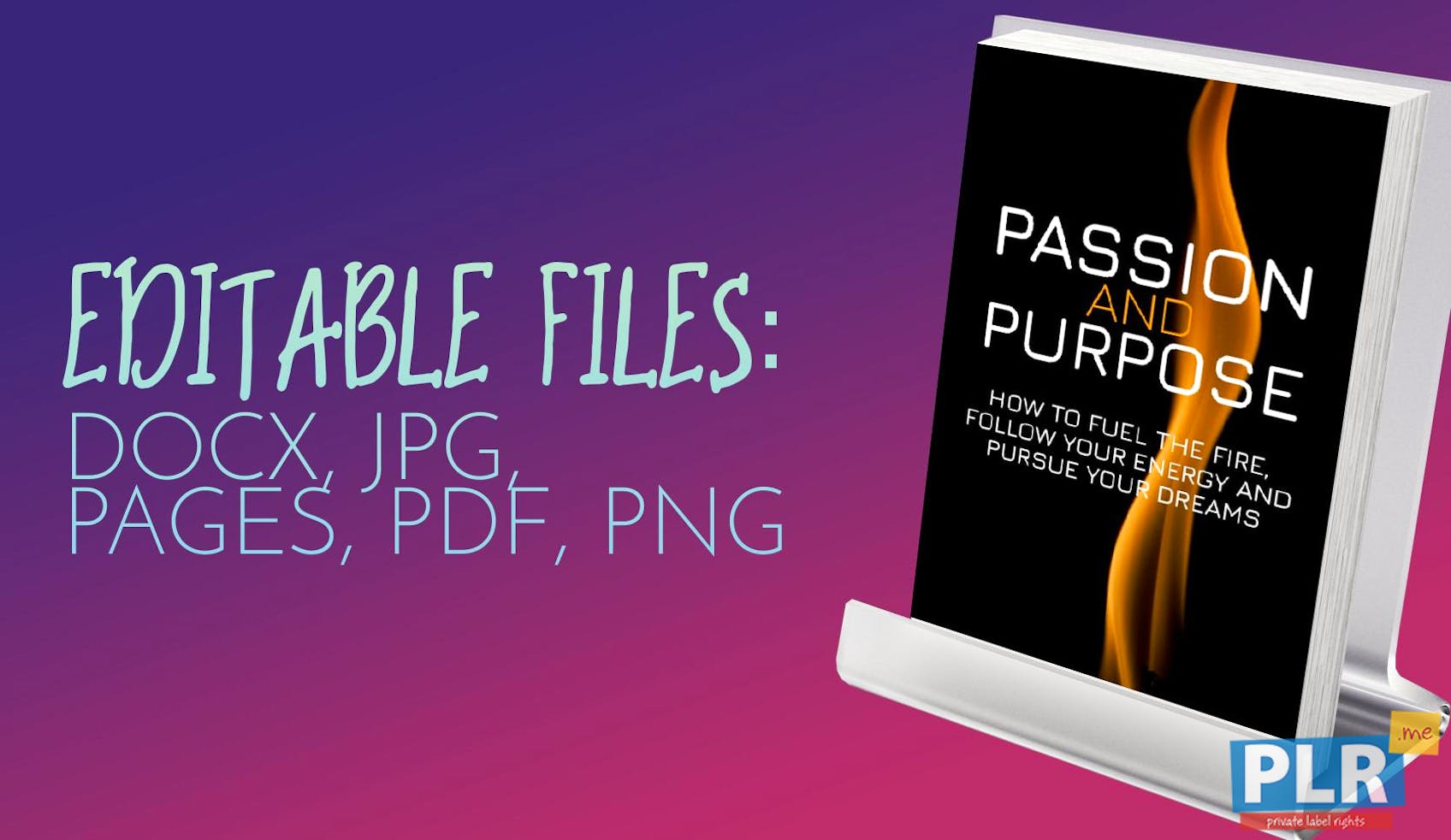 Passion And Purpose: How To Fuel The Fire, Follow Your Energy And Pursue Your Dreams