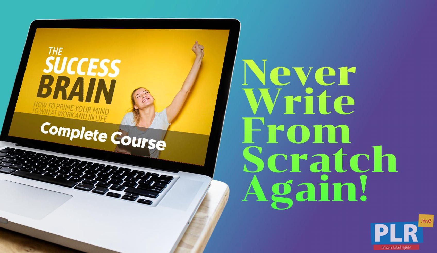 The Success Brain PLR Course: How To Build A Success Mindset Through SMART Goals And Healthy Habits