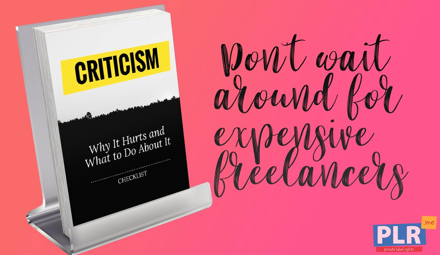 Criticism: Why It Hurts And What To Do About It - Checklist