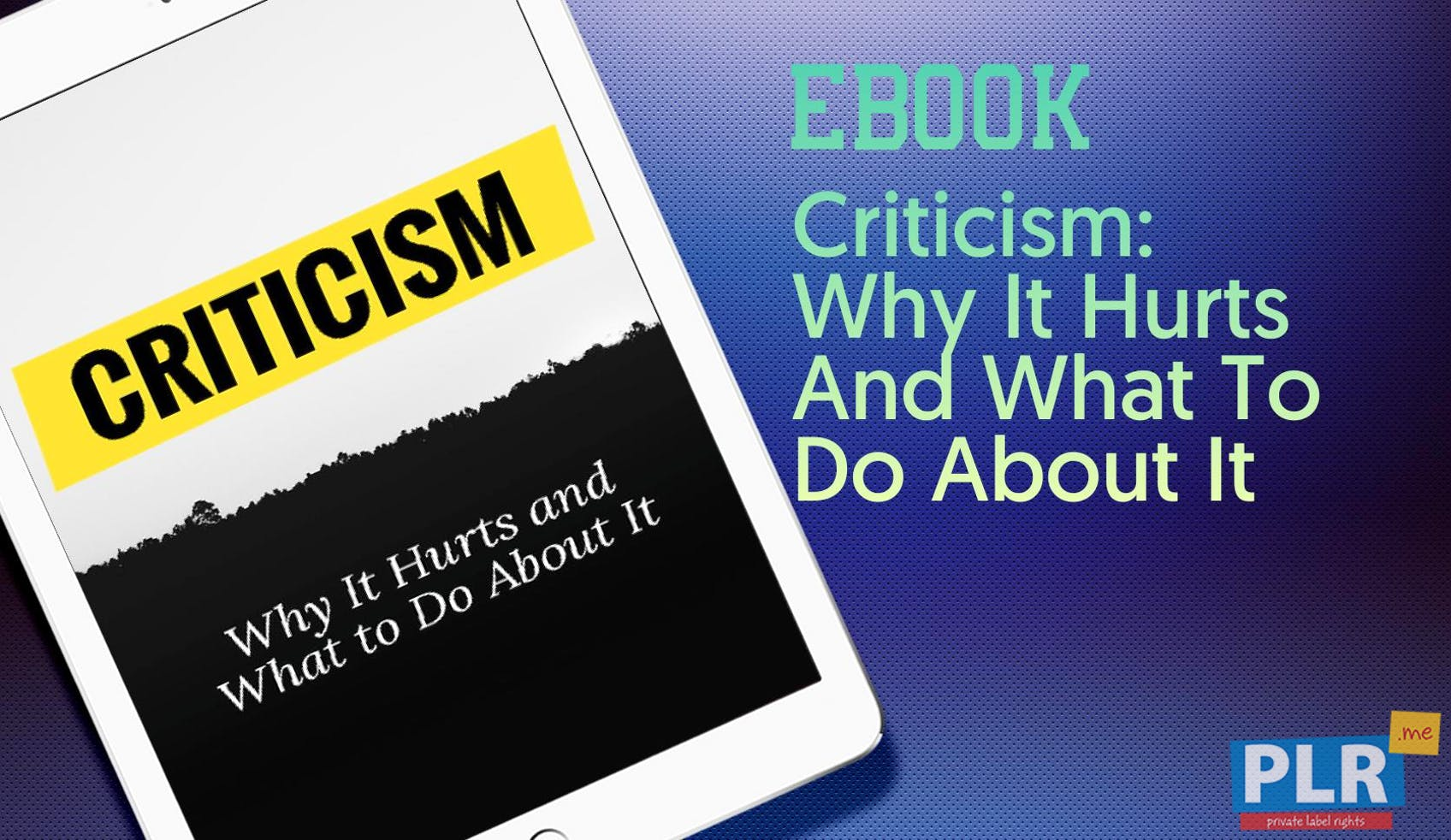 Criticism: Why It Hurts And What To Do About It