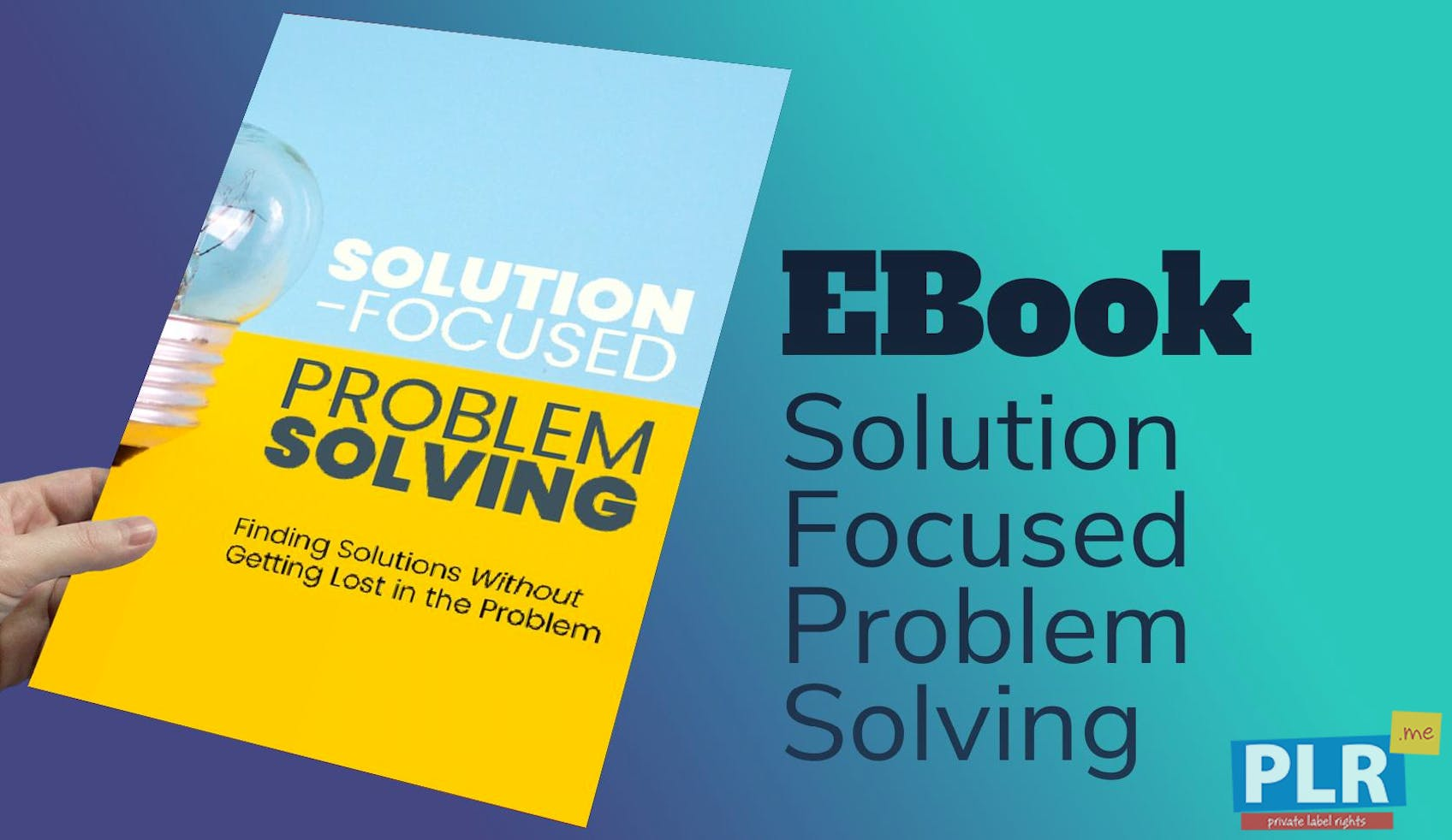 Solution Focused Problem Solving