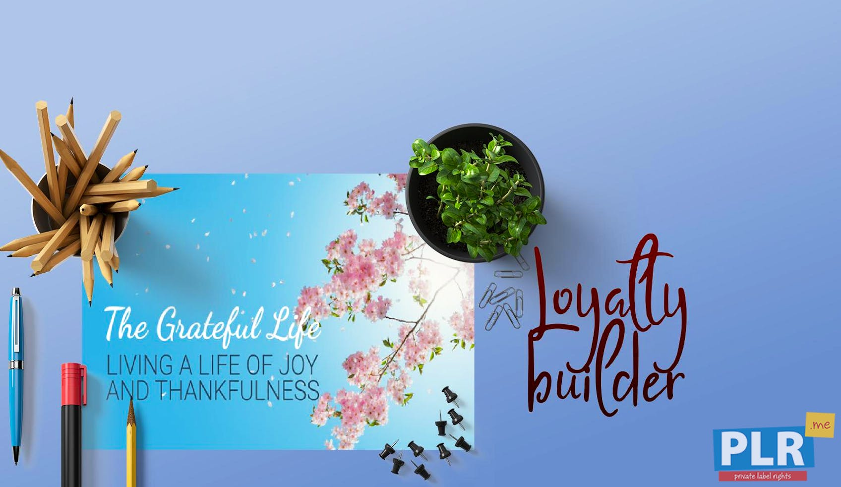 The Grateful Life - Living With Joy And Thankfulness - Slide Deck