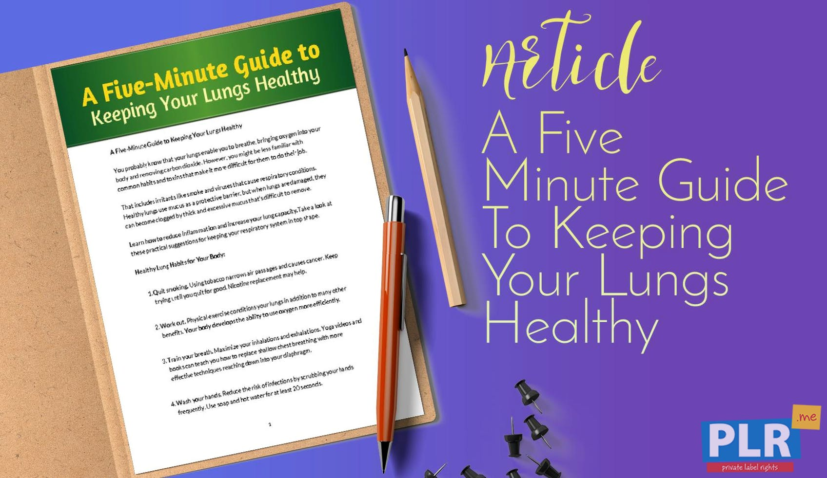A Five Minute Guide To Keeping Your Lungs Healthy