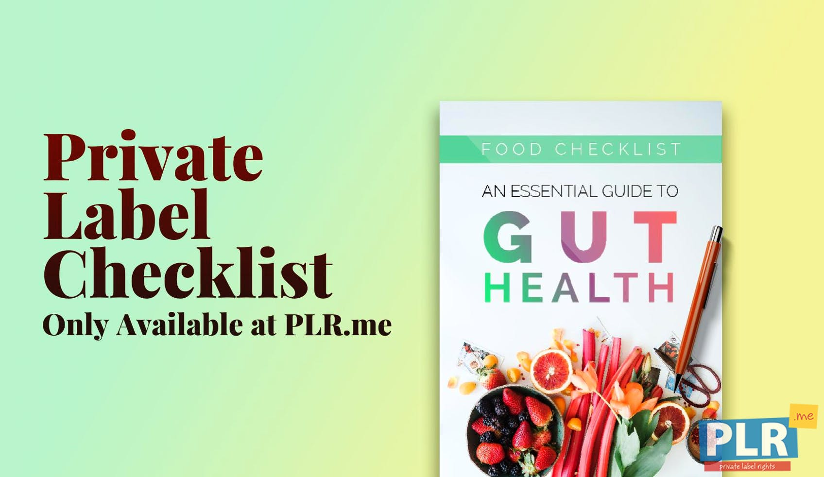 An Essential Guide To Gut Health Food Checklist