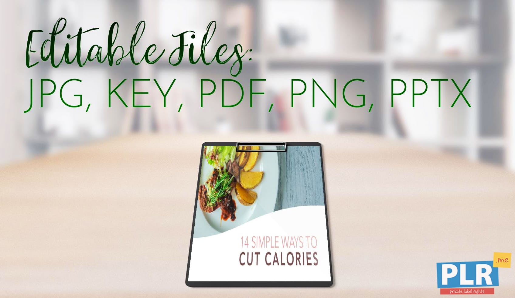 14 Simple Ways To Cut Calories Slide Deck