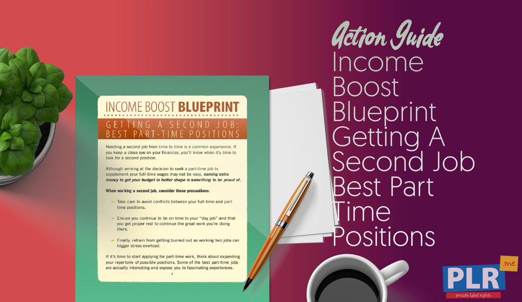 Income Boost Blueprint Getting A Second Job Best Part Time Positions