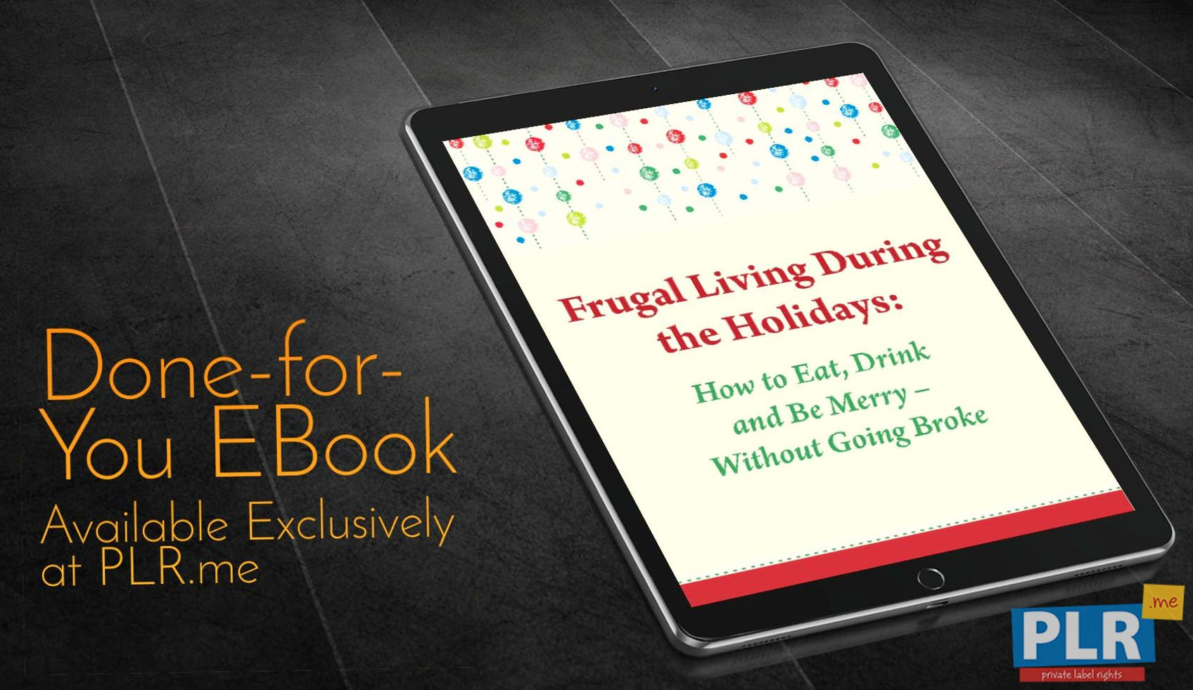 Frugal Living During The Holidays