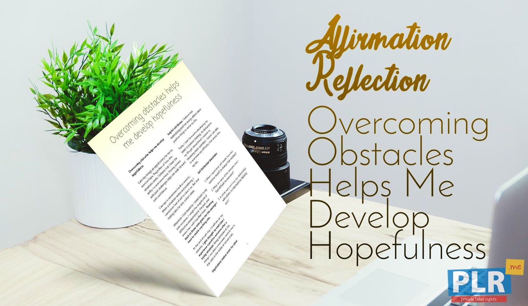 Overcoming Obstacles Helps Me Develop Hopefulness
