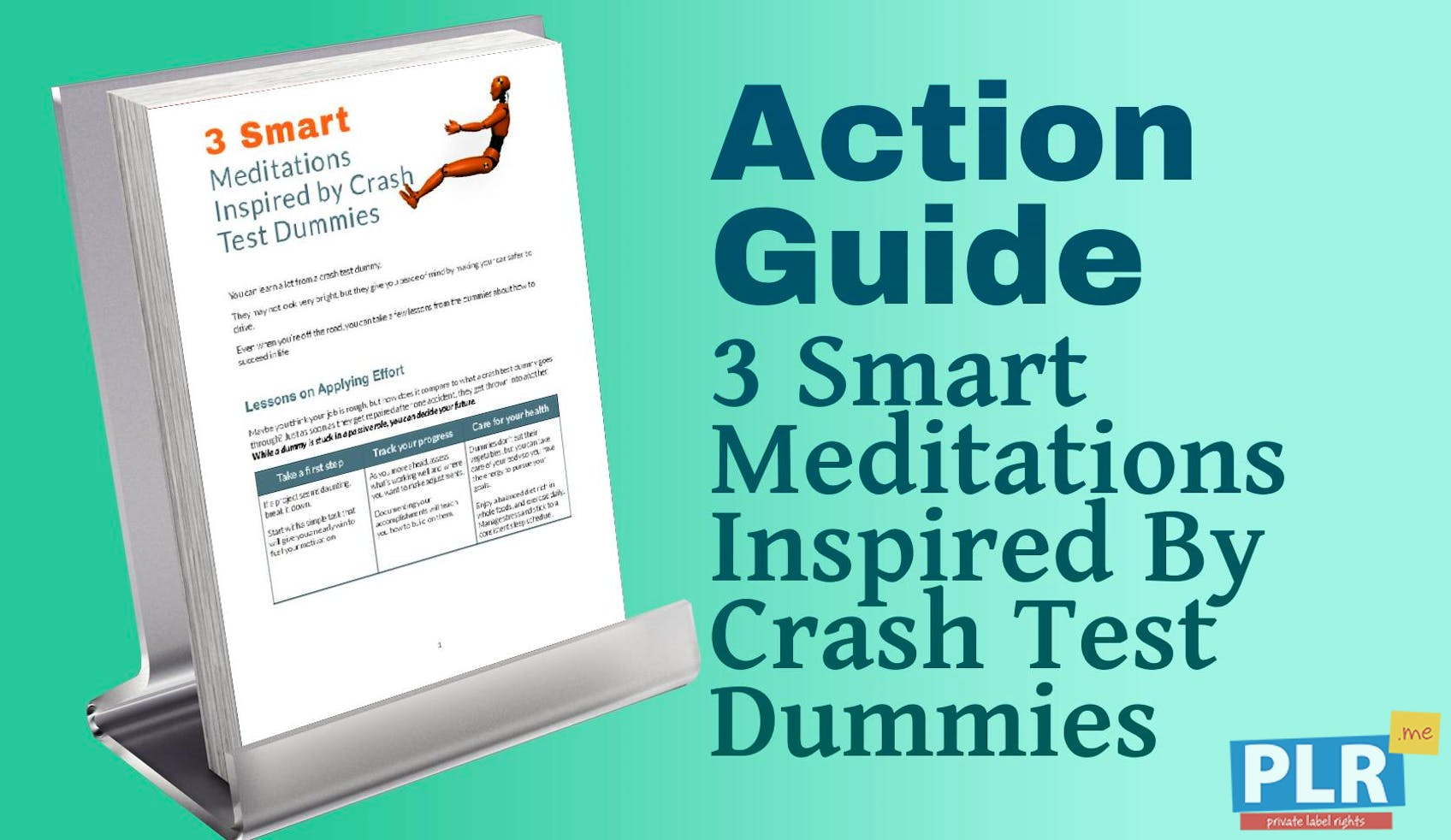 3 Smart Meditations Inspired By Crash Test Dummies