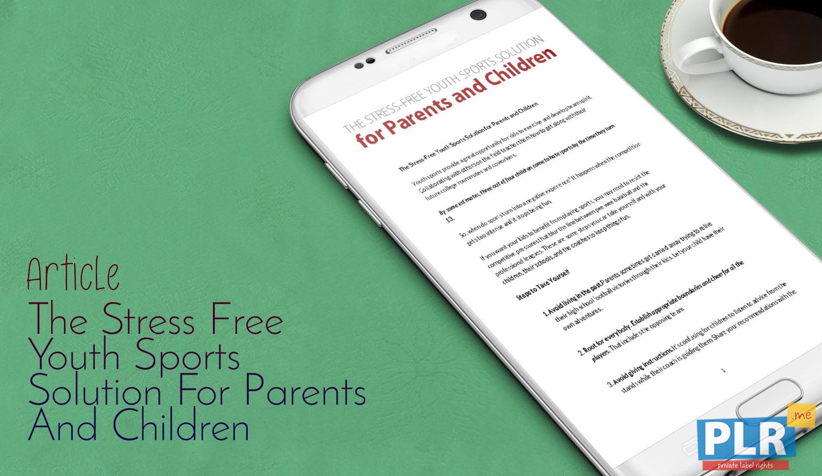 The Stress Free Youth Sports Solution For Parents And Children
