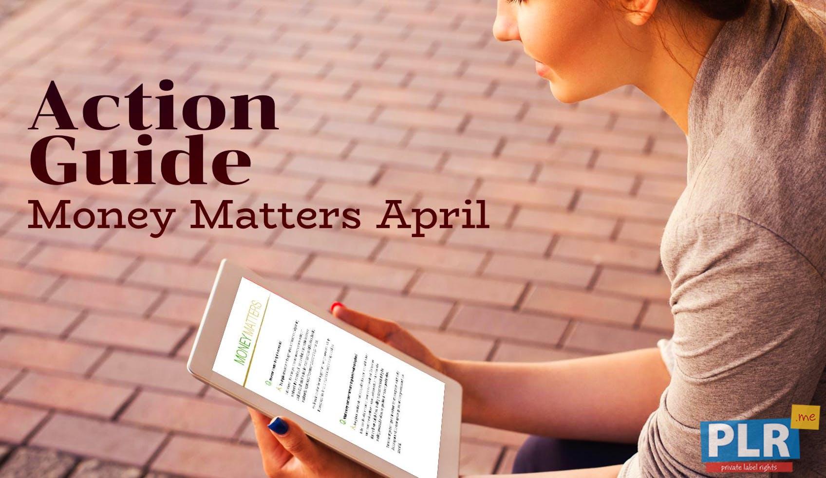 Money Matters April