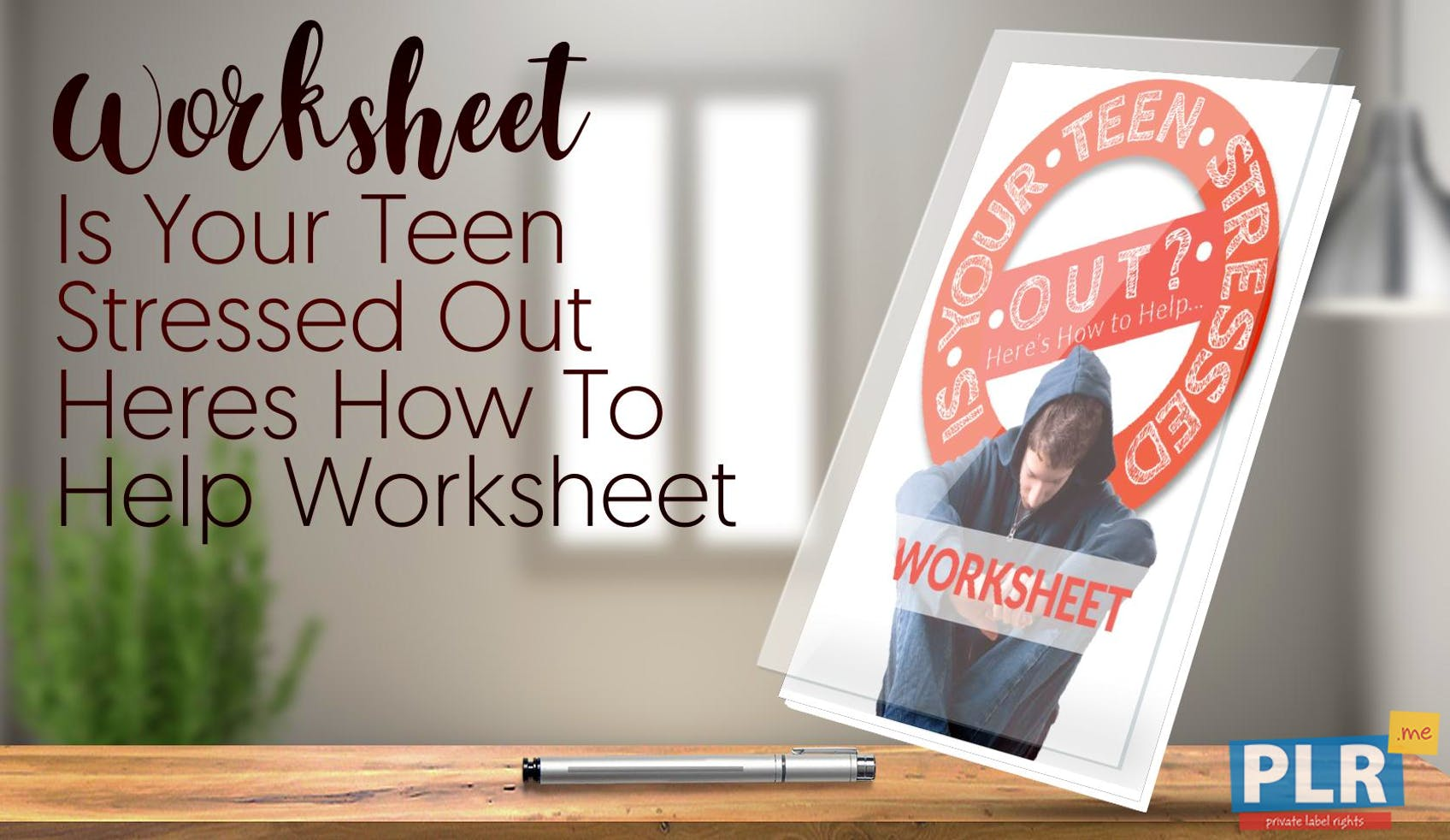 Is Your Teen Stressed Out Heres How To Help Worksheet