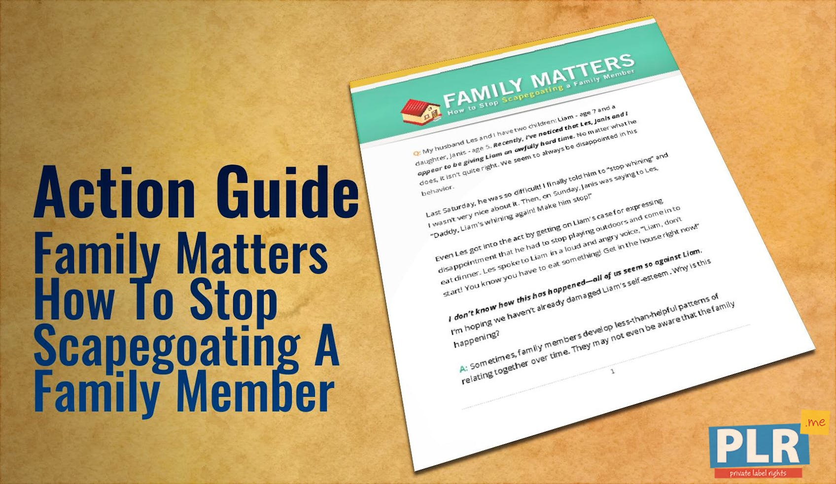 Family Matters How To Stop Scapegoating A Family Member