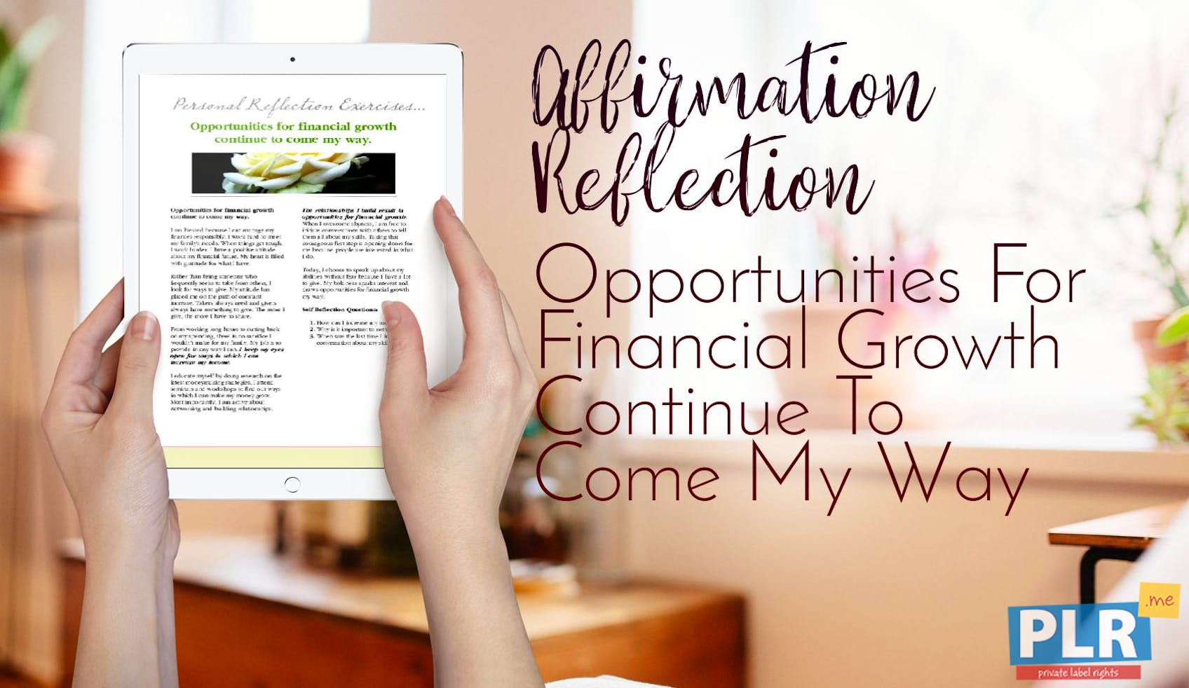 Opportunities For Financial Growth Continue To Come My Way