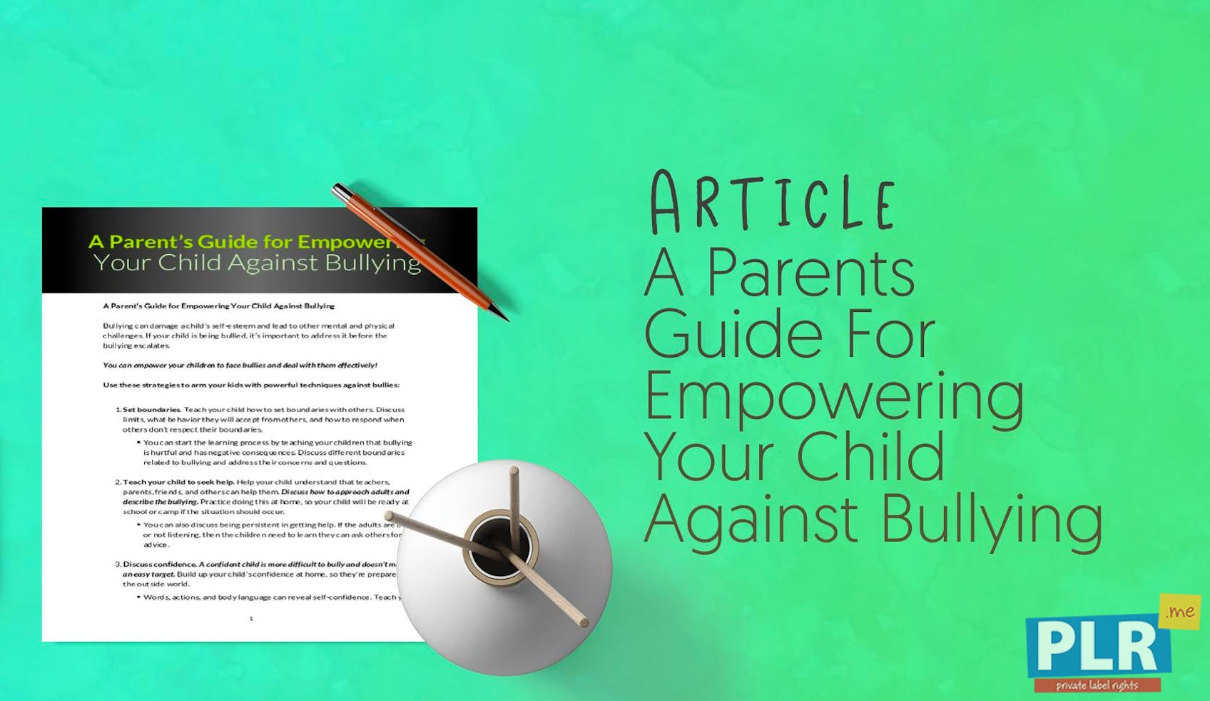 Your Childs Rights Response To >> Plr Articles Blog Posts A Parents Guide For Empowering Your