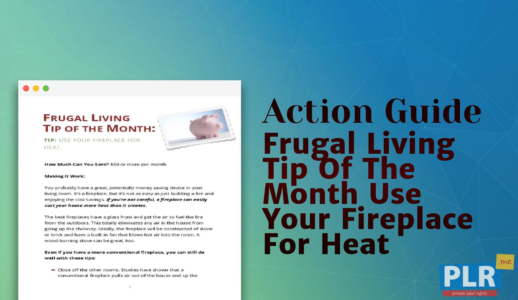 Frugal Living Tip Of The Month Use Your Fireplace For Heat